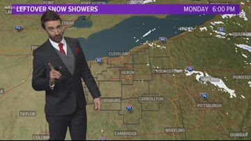 6 p.m. weather forecast December 24, 2018
