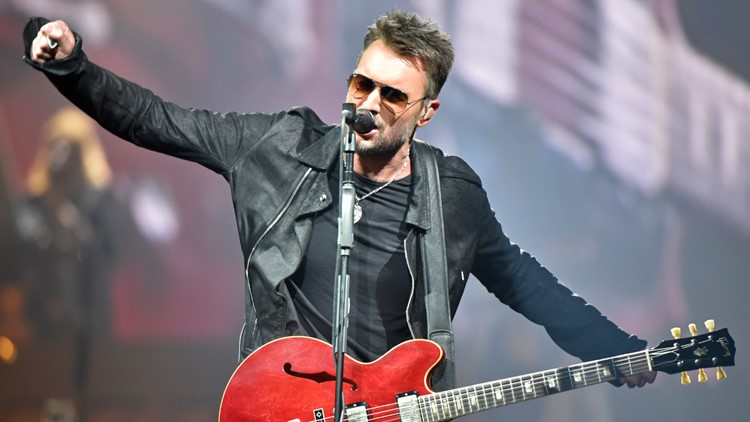 Country star Eric Church films music video at Ohio State Reformatory in Mansfield