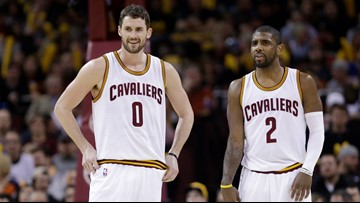 Kyrie Irving says the Nets need help. Could a Kevin Love trade work?