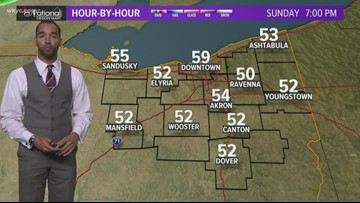 6 p.m. weather forecast for Oct. 12, 2019