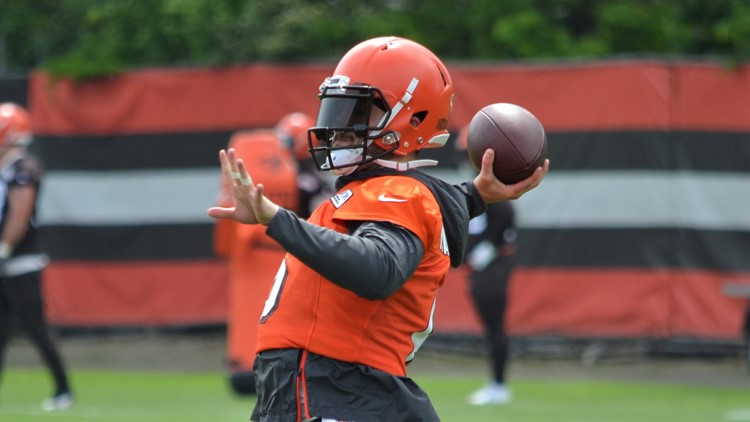 Cleveland Browns OTAs: Quarterback Baker Mayfield
