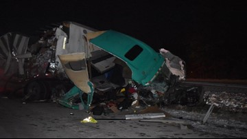 Photos: Portion of I-90 east open again following crash in Avon Wednesday night