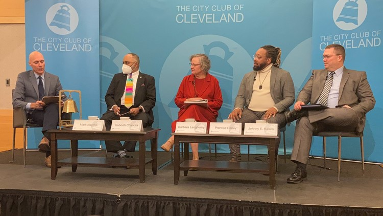 WATCH: 3News' Mark Naymik moderates discussion at The City Club of Cleveland about Issue 24