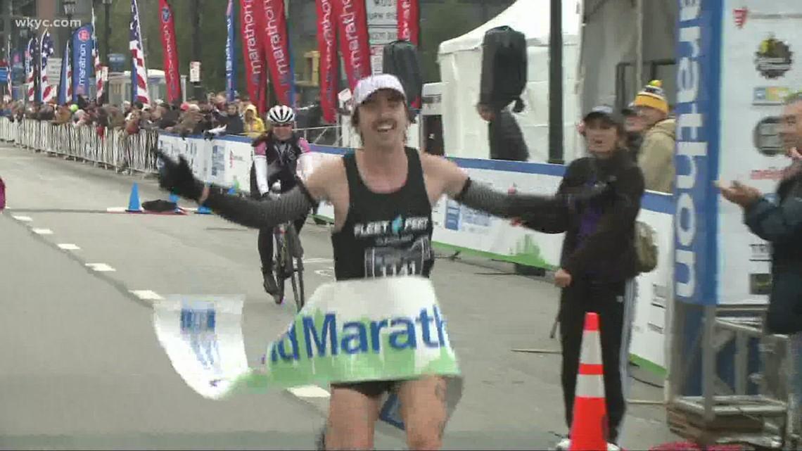 Jeremiah Fitzgerald, of Lakewood, wins 2021 Union Home Mortgage Cleveland Marathon