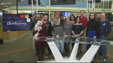 Happy Thanksgiving from WKYC!