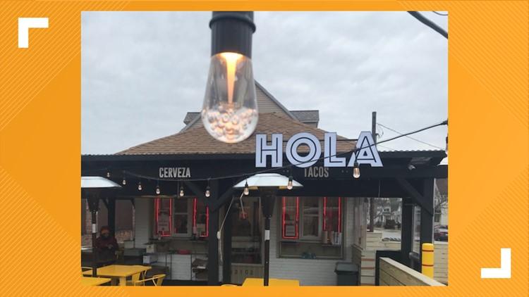 Hola Tacos outdoor exterior