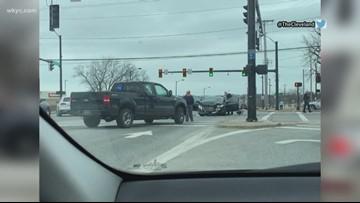 Westlake officer involved in car crash