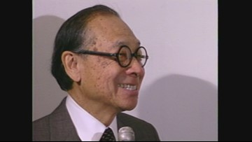 A look back: I.M. Pei speaks at Rock & Roll Hall of Fame design unveil in 1988