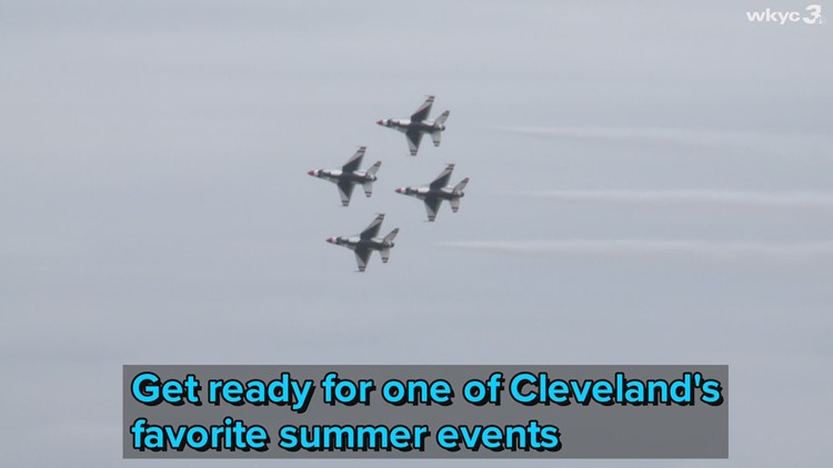 Tickets on sale now for the 2021 Cleveland National Air Show