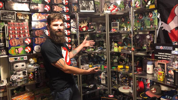 Elyria man makes Guinness Book of World Records with 'Ghostbusters' memorabilia