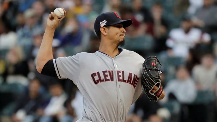 Carlos Carrasco supports Cleveland Indians teammates with custom ...