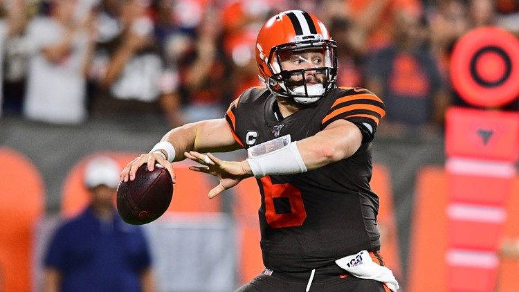Baker Mayfield Los Angeles Rams-Cleveland Browns Football