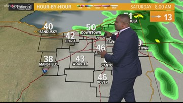 Morning Weather Forecast for Northeast Ohio for Saturday October 12
