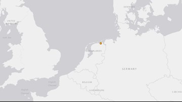 Earthquake shakes northern Netherlands early Wednesday, no injuries reported