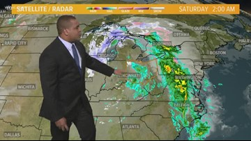 Morning Weather Forecast for Northeast Ohio for Saturday January 25