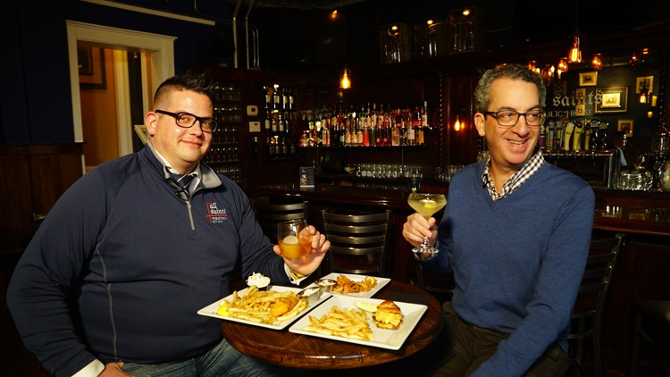 Doug Trattner and Chris Brauser, owner of All Saint's Public House