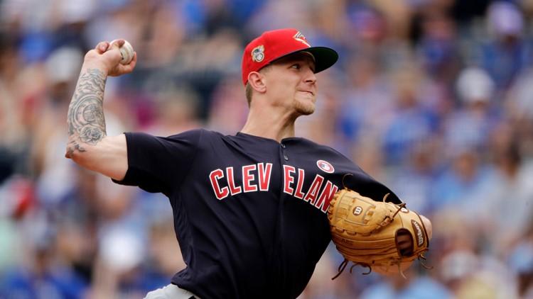 Zach Plesac Cleveland Indians Baseball