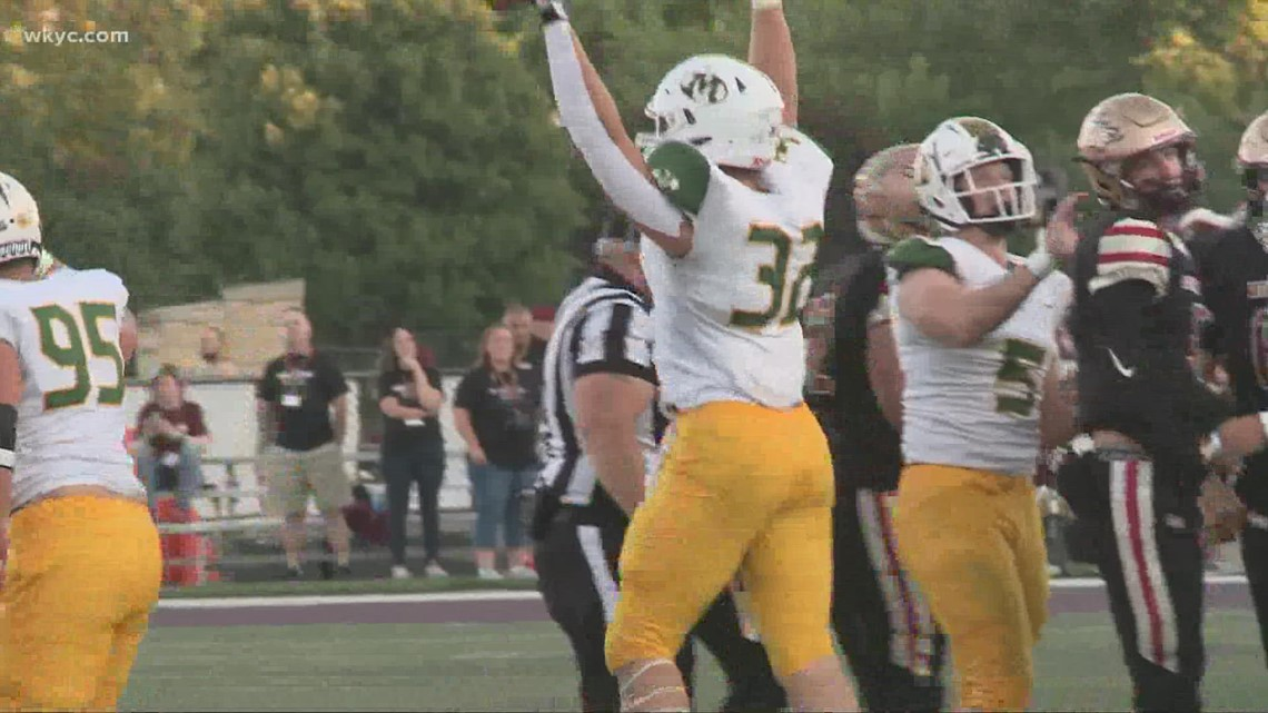 Medina beats Stow-Munroe Falls 38-27 in WKYC.com High School Football Game of the Week