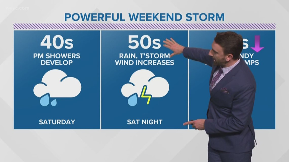 FORECAST | Powerful Weekend Storm To Bring High Winds & Rain