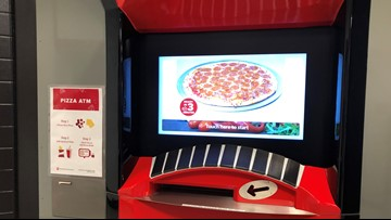 Ohio State unveils 'Pizza ATM' machine on campus