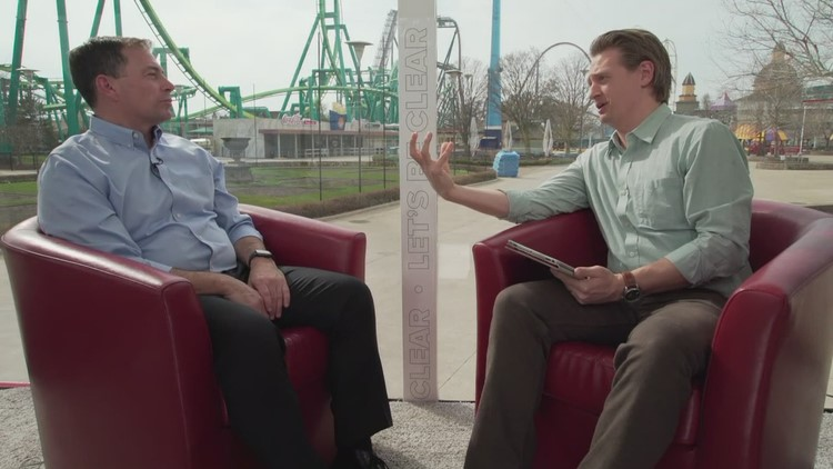 Cedar Point GM Jason McClure reveals plans for new ride in 2020