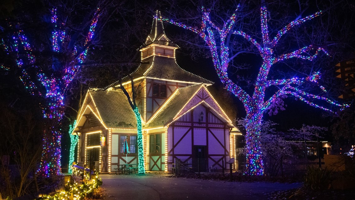 Wild Winter Lights returns to Cleveland Metroparks Zoo with more than 1 million lights
