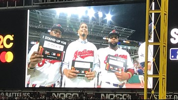 Cleveland is #CookieStrong in support of Carlos Carrasco in his battle with leukemia