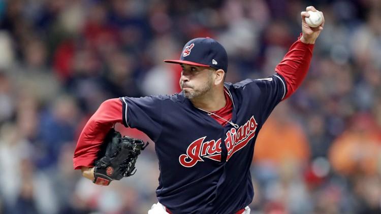 Oliver Perez Boston Red Sox Cleveland Indians Baseball