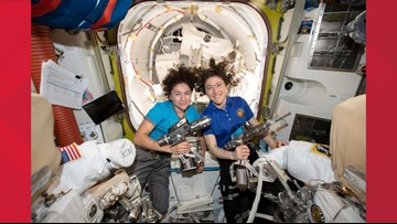NASA makes 'HERstory' with first all-female spacewalk
