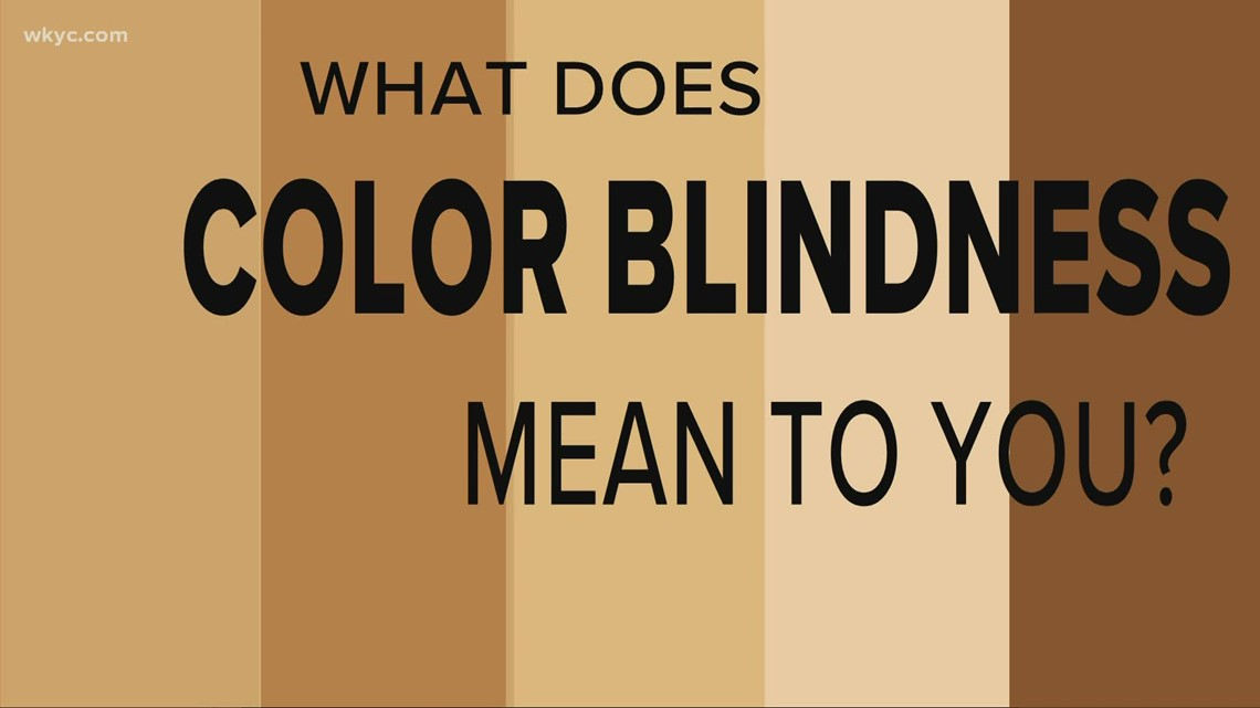What does color blindness mean in social and cultural society?
