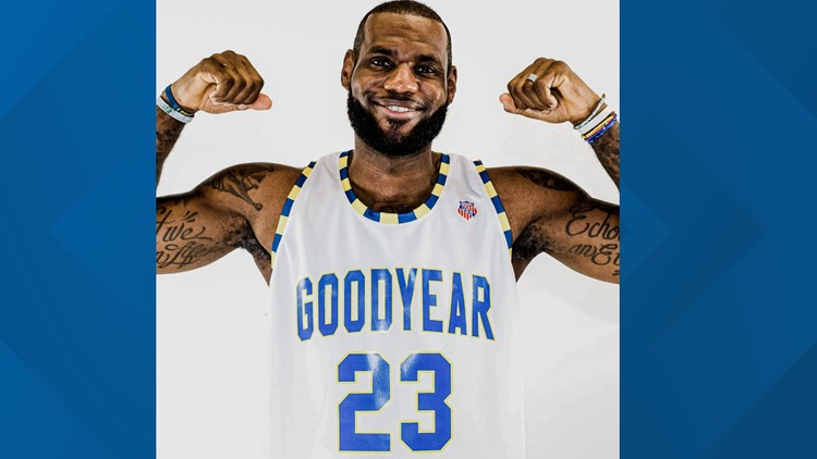 'So proud to call them family': LeBron James shows support for Goodyear amid President Trump's call for boycott of Akron-based company