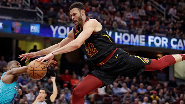 Kemba Walker Charlotte Hornets Keep Playoff Push Going Beat Cleveland Cavaliers 124 97