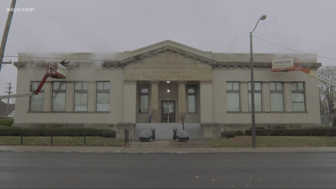 Cleveland library branch joins in special way with Mt. Rushmore, Statue of Liberty, and other iconic tourist attractions