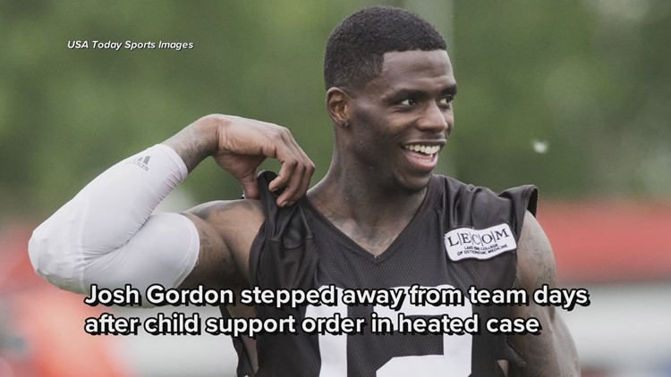 Cleveland Browns  Josh Gordon stepped away from team days after ... a626c270c