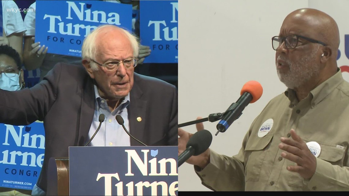 Big-name Democrats campaign for Shontel Brown, Nina Turner in race for Ohio's 11th District