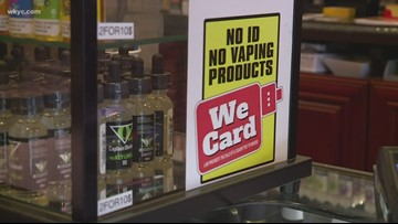 Starting Thursday, if you're under 21 you can't buy tobacco or tobacco products in Ohio