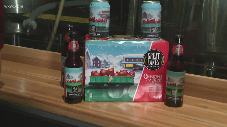 Christmas Ale is back! Great Lakes Brewing Company holds 2021 First Pour celebration