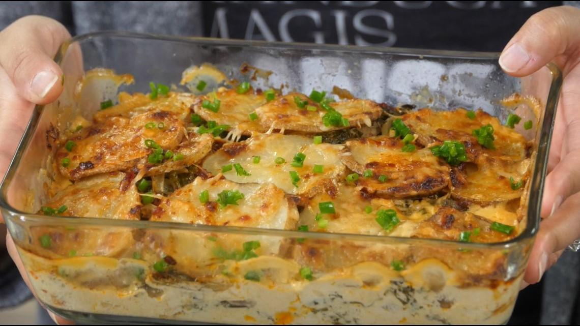 Comfort Food Friday recipe: Harissa-spiced potato gratin