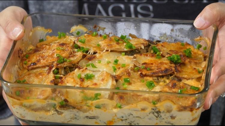 Comfort Food Friday: Harissa-spiced potato gratin