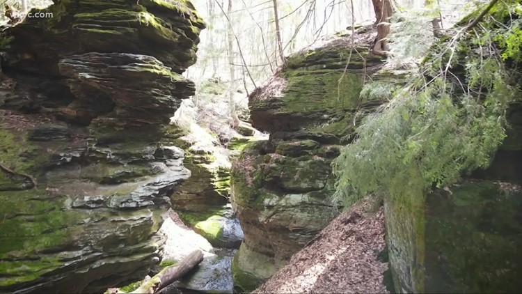 Exploring Ansel's Cave in Geauga County: GO-HIO adventures
