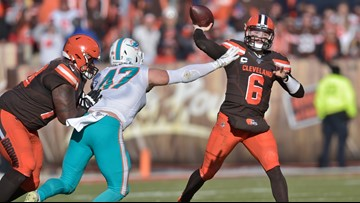 The Cleveland Browns' easy-ish win over the Miami Dolphins puts them back on schedule—Bud Shaw's Sports Spin