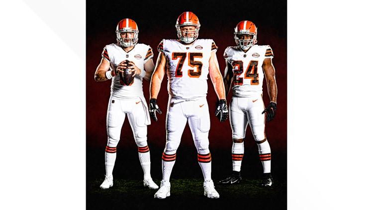 cleveland browns away jersey