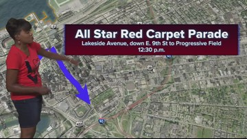 MLB All-Star Game parade in Cleveland: How to get around the road closures