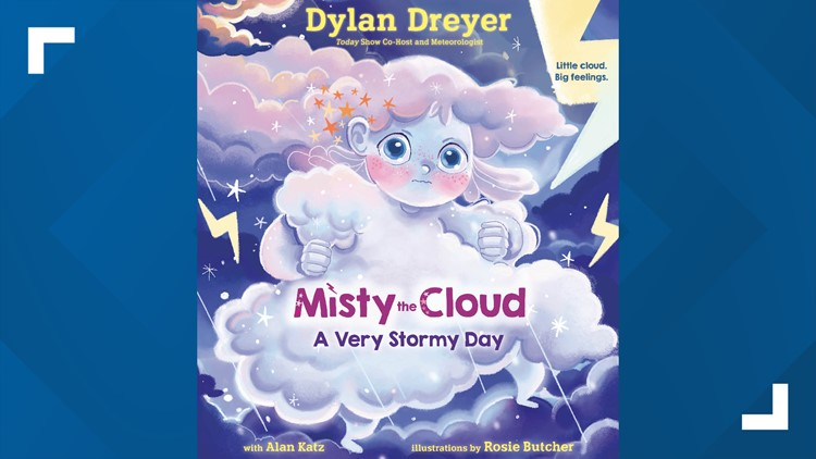 Dylan Dreyer on the mental health message from her new book 'Misty The Cloud: A Very Stormy Day'