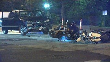 4 hurt when pickup truck hits 3 motorcycles in North Olmsted | wkyc com