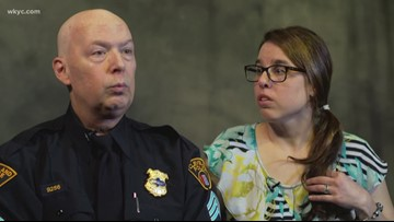 Cleveland officer remains on duty through cancer battle