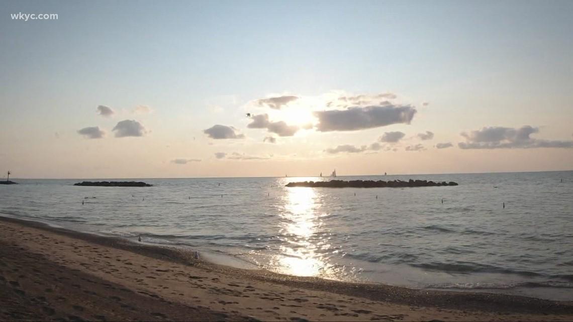 Finding the best sunsets in Ohio at Euclid Beach: GO-HIO adventures with 3News' Matt Standridge