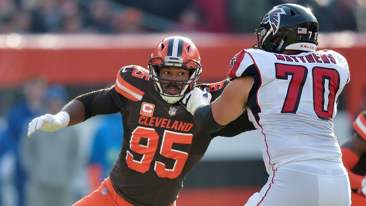 Myles Garrett: Cleveland Browns 'absolutely' team to beat in AFC North Division