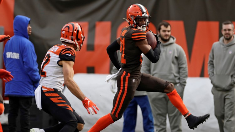 Denzel Ward Cincinnati Bengals-Cleveland Browns Football
