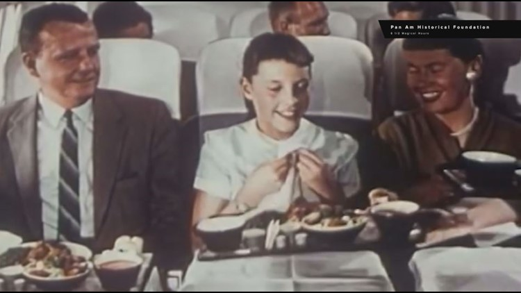 Airlines back in the day